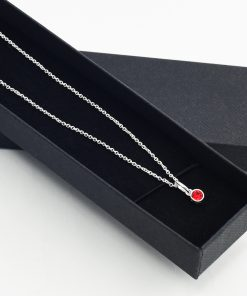 Birthstone Necklace Ruby July