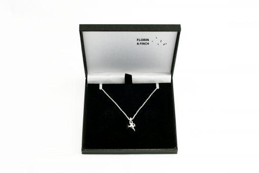 Genie Aladdin Lamp Silver Necklace
