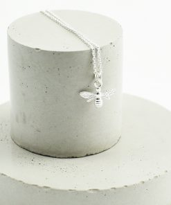 Silver Bee Necklace Sterling Silver