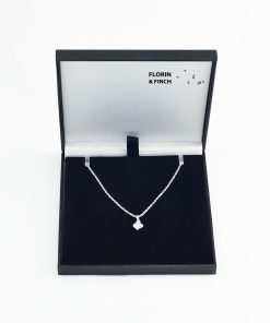 Silver Heart Charm Box