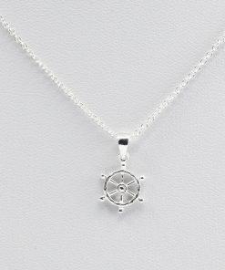 Silver Ships Wheel