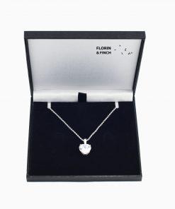Sparkling Chrystal Heart Case