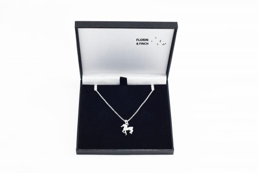 Horse Pony Silver Necklace