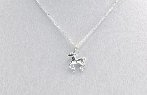 Horse Pony Sterling Silver Necklace