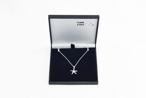 Star Fish Silver Necklace