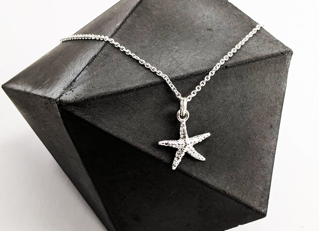 Starfish Silver Jewellery Florin Finch