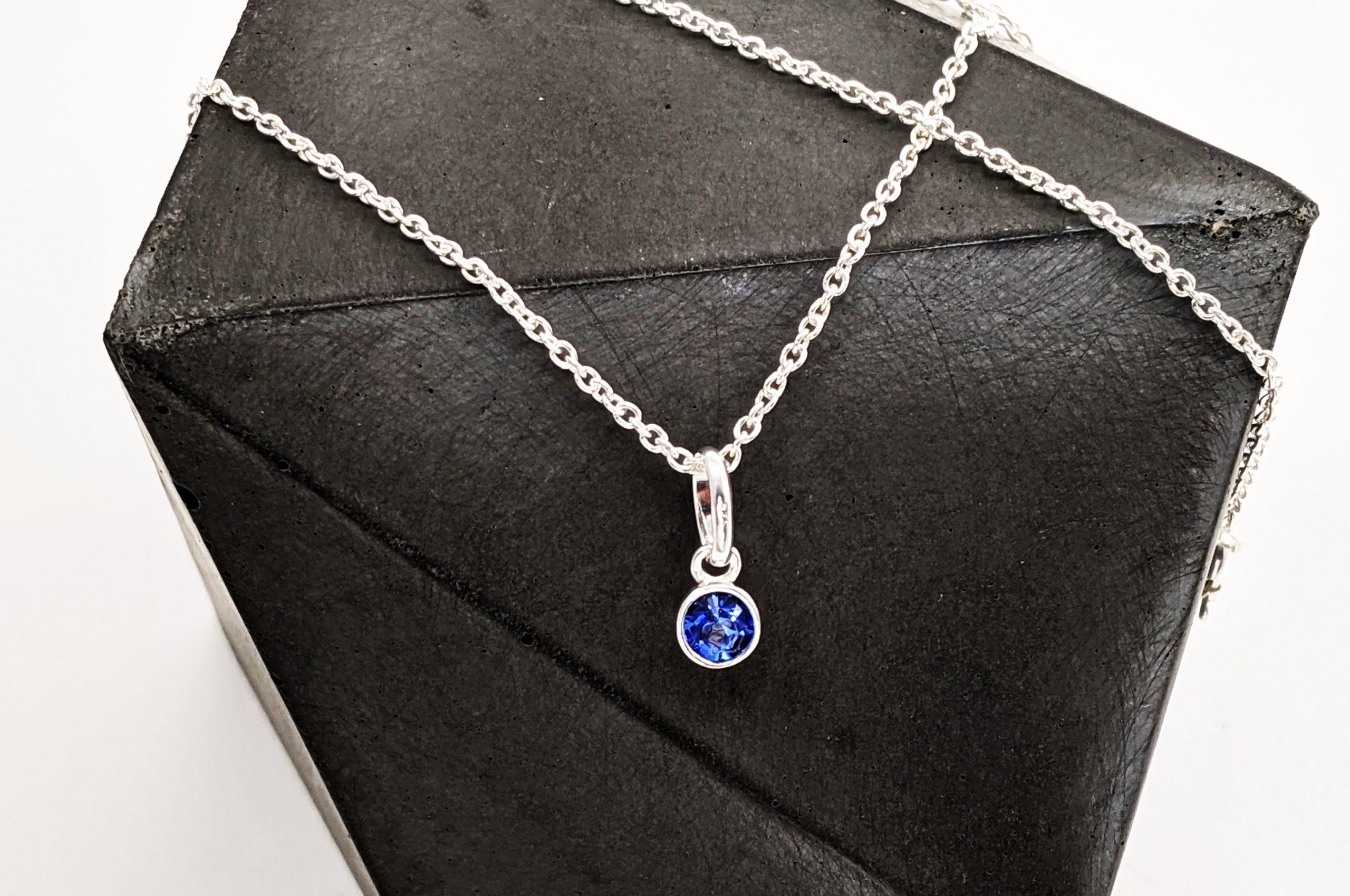 Septermber Birthstone Necklace