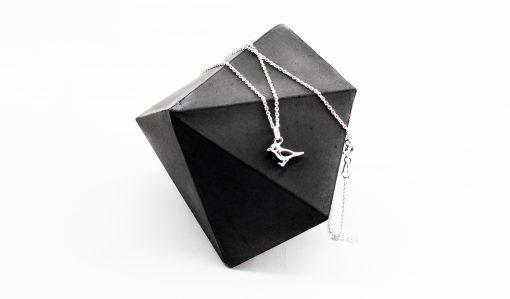 Silver Sparrow Charm