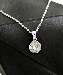 Yin Yan Silver Jewellery Necklace