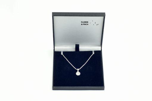 Yin Yang Silver Necklace